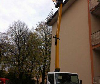 Spostare generatore di aria calda